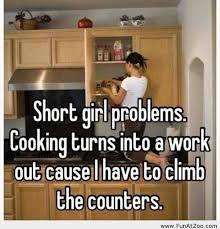 Image result for short girl problems