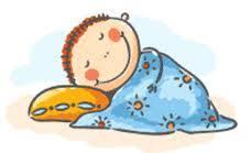 Resultado de imagen de dibujo de niños durmiendo