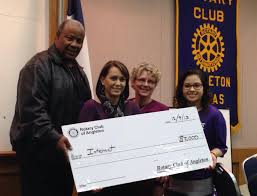 home page rotary club of angleton angleton rotary foundation supports ahs interact club