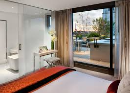 bathroom suite mandarin:  room and luxurious bathroom each piece of furniture is an object of beauty but the balcony is the stunning feature with views of paris landmarks
