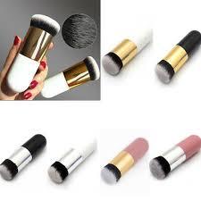<b>Hot Chubby Pier</b> Foundation Brush Flat Makeup Cream Brushes ...