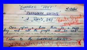 funny answer sheets in english   funny answer sheets in examinationfunny test and exam answer sheets in english  surprise test   quot a rainy day