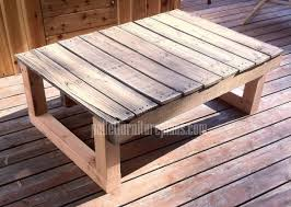 diy recycled pallet table build pallet furniture plans