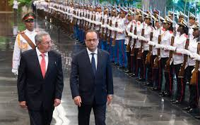 """Résultat de recherche d'images pour """"Hollande et fidel castro"""""""
