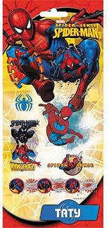 """<b>Наклейки объемные</b> """"<b>Spiderman</b>"""" 17,5 х 9 см - <b>Наклейки</b>"""