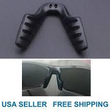 <b>1 pc Silicone Anti</b>-<b>Slip</b> Saddle Bridge Nose Pads for Eyeglass ...