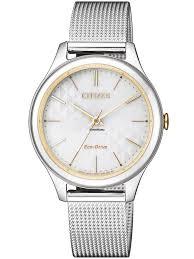 Купить <b>часы Citizen EM0504</b>-<b>81A</b> Eco-Drive Elegant Damen 32mm ...