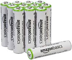 AmazonBasics AAA Rechargeable Batteries (12-Pack ... - Amazon.com