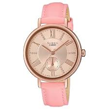 Наручные <b>часы CASIO SHE</b>-<b>3066PGL</b>-<b>4A</b>