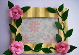 ideas picture frame crafts photo frame craft ideas photobframebcraftbideas photo frame craft idea
