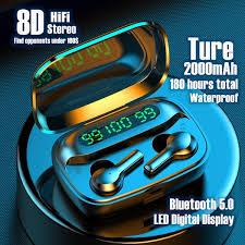 [CVC8.0 Noise Reduction] 2020 New <b>True Wireless</b> Bluetooth 5.0 ...