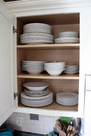 kitchen cabinets store dishes dishwasher the kitchen cabinet tour organizeddishcabinet the kitchen cabinet tour