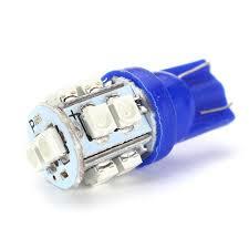 <b>2pcs</b> 12V Car Lights <b>T10</b> W5W <b>1210</b> SMD 10 LED Blue Car Auto ...
