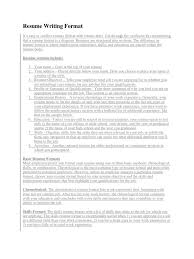 resume writing format docx résumé