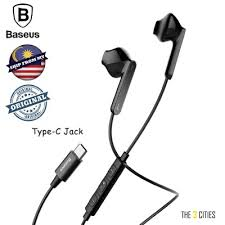 <b>Baseus Encok C16 Wired</b> Stereo Earphone with Microphone For ...