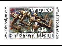 <b>Rotary Tattoo Machine</b> WUKO in Akira Body Art - YouTube
