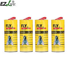 2019 Cheap Traps <b>4 Rolls/Pack Insect Bug</b> Fly Glue Paper Fly Killer ...