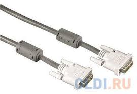 <b>Кабель DVI-DVI 1.8м Hama</b> High Quality серый H-45077 — купить ...