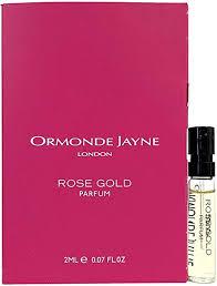 <b>Ormonde Jayne ROSE GOLD</b> Parfum Vial Spray With Card, 2ml ...