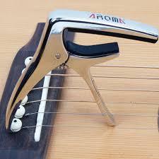 AROMA AC 21 <b>Guitar Capo</b> Metal Alloy Versatile <b>Guitar Capo</b> W ...