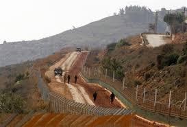 """Résultat de recherche d'images pour """"fotos de la frontiere libano israelienne"""""""