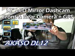 <b>70mai Rearview Dash</b> Cam Wide with Night Vision Rear Camera ...