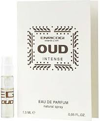<b>Enrico Gi Oud Intense</b> By Eau De Parfum Spray Vial On Card ...