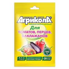 Удобрение <b>Агрикола</b> №<b>3</b> для томатов, перцев, баклажанов, <b>50</b> г ...