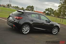 Black Mazda 3 2014 Mazda3 Sp25 Gt Review Performancedrive