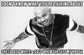 TheDress meme Chris Brown Rihanna - Imgur via Relatably.com