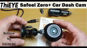 ThiEYE Safeel Zero+ <b>Car</b> Dash Cam review - HD 1080P, G-Sensor ...