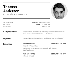 Create professional resumes online for free - CV creator - CV Maker A wide range of templates to choose from
