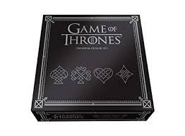 USAOPOLY Game of Thrones Premium Dealer <b>Set Playing Cards</b>