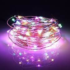 <b>10M 100 LED Solar</b> Powered Copper Wire Fairy String Light for ...