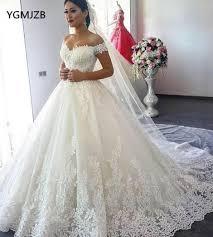 <b>Vestido de Noiva</b> 2019 Princess <b>Wedding</b> Dresses Off Shoulder ...