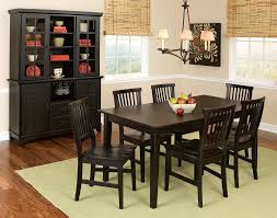 seven piece dining set: impressive redwood oversized rectangle dining table