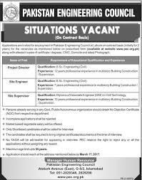 situation vacant in engineering council lahore situation vacant in engineering council lahore