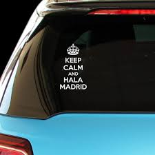 PressFans - <b>Keep Calm and HALA</b> Madrid Ca- Buy Online in ...