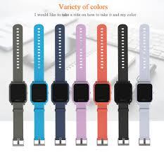 Mijobs <b>20mm Sport Silicone Wrist</b> Strap for Xiaomi Huami Amazfit ...