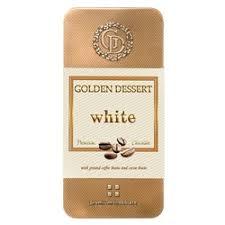 «<b>Шоколад GOLDEN DESSERT</b> белый с молотыми кофейными ...