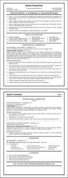 stockbroker sample resume resumepower resume samples