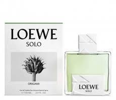 Мужские духи <b>Loewe Solo Origami</b>, купить парфюм и <b>туалетную</b> ...