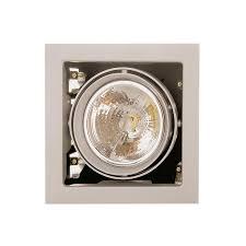 Встраиваемый <b>светильник Lightstar 214117</b>, серый - купить по ...