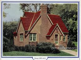 Flickriver  Daily Bungalow    s photos tagged      Bilt Well Homes of Comfort  Brick English Cottage