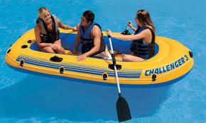 Надувная <b>лодка Intex Challenger 3</b> Set 295х137х43 см 68370 ...