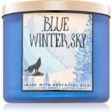 Bath & Body Works Blue <b>Winter</b> Sky <b>ароматическая свеча</b>   notino.ru