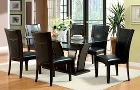 Transitional Dining Room Furniture Glass Top Table Acme Furniture Dining Tables Top Rectangular