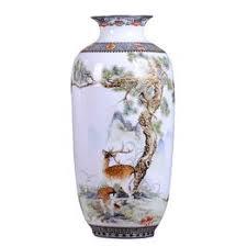 Jingdezhen Ceramic Vase Vintage Chinese Style Animal ... - Vova