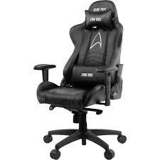 Компьютерное <b>кресло Arozzi Gaming Chair</b> Star Trek Edition Black ...