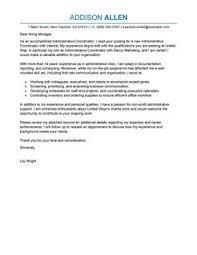 more administrative coordinator cover letter examples sales coordinator cover letter